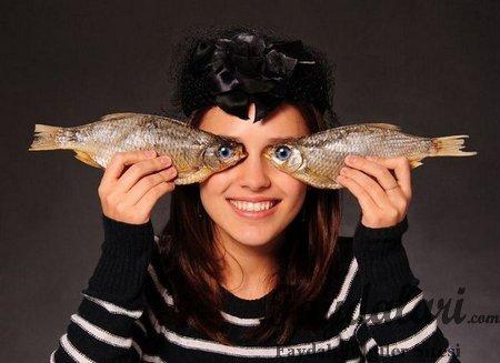 Balığın göze yararı