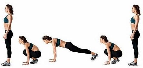 Fitness Jump Burpees Hareketi Faydaları