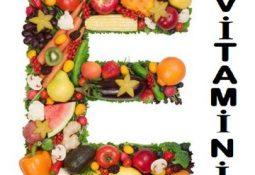 E Vitamininin Faydaları Nelerdir?