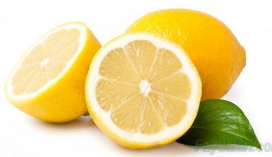 limonun faydalari