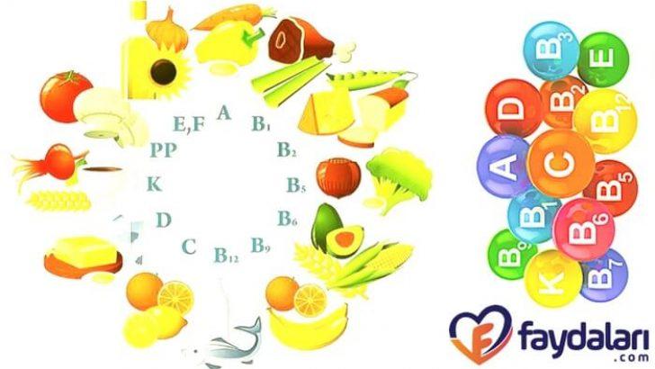 Vitaminlerin Faydaları