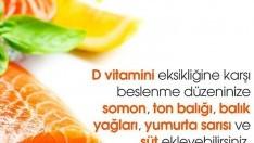 D vitamini eksikliği nasıl giderilir ?